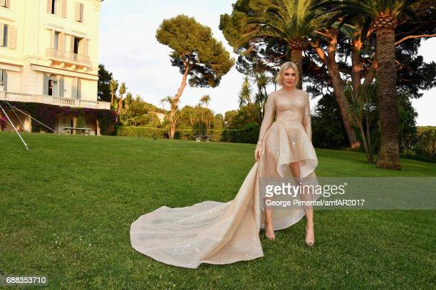 Hofit Golan arrives at the amfAR Gala Cannes 2017 at Hotel du CapEdenRoc on May 25 2017 in Cap d'Antibes France