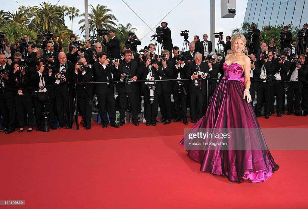 Hofit Golan arrives at the 'Sleeping Beauty' premiere during the 64th Annual Cannes Film Festival at the Palais des Festivals on May 12, 2011 in Cannes, France.