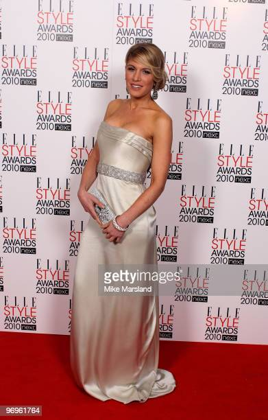 Hofit Golan arrives for the ELLE Style Awards 2010 at the Grand Connaught Rooms on February 22 2010 in London England