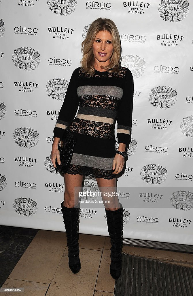 Hofit Golan arrives for the 'Steam and Rye' resturent launch party on November 19, 2013 in London, United Kingdom.