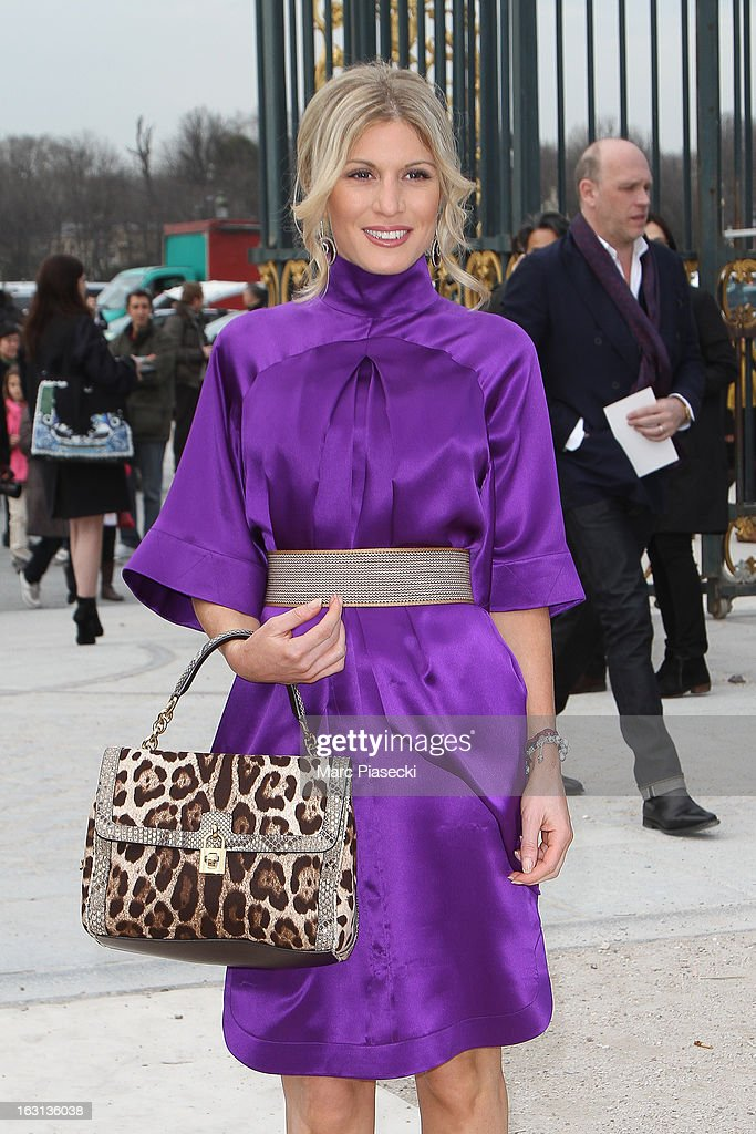 Hofit Golan arrives to attend the 'Valentino' Fall/Winter 2013 Ready-to-Wear show as part of Paris Fashion Week on March 5, 2013 in Paris, France.