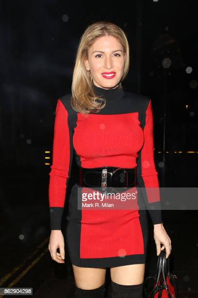 Hofit Golan attending the The Trafalgar St James launch party on October 18 2017 in London England