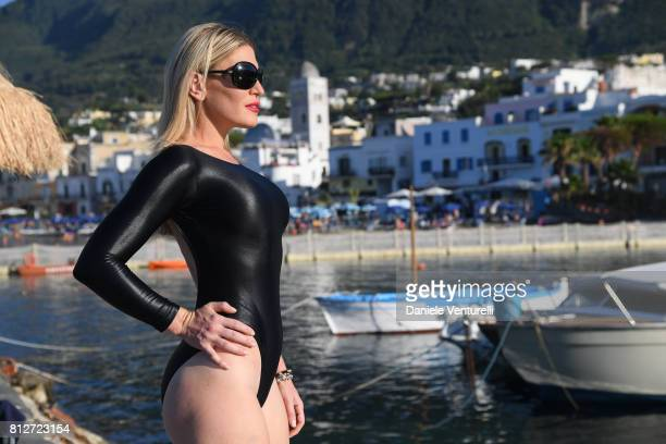 Hofit Golan attends 2017 Ischia Global Film Music Fest on July 11 2017 in Ischia Italy
