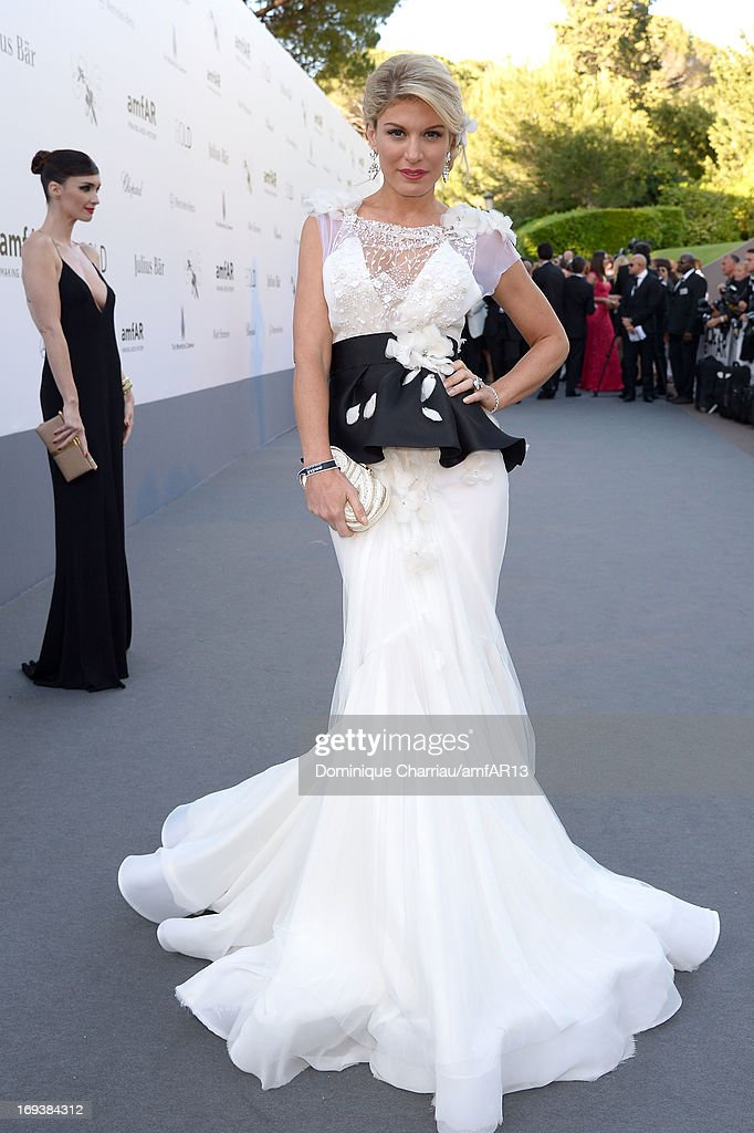 Hofit Golan attends amfAR's 20th Annual Cinema Against AIDS during The 66th Annual Cannes Film Festival at Hotel du Cap-Eden-Roc on May 23, 2013 in Cap d'Antibes, France.