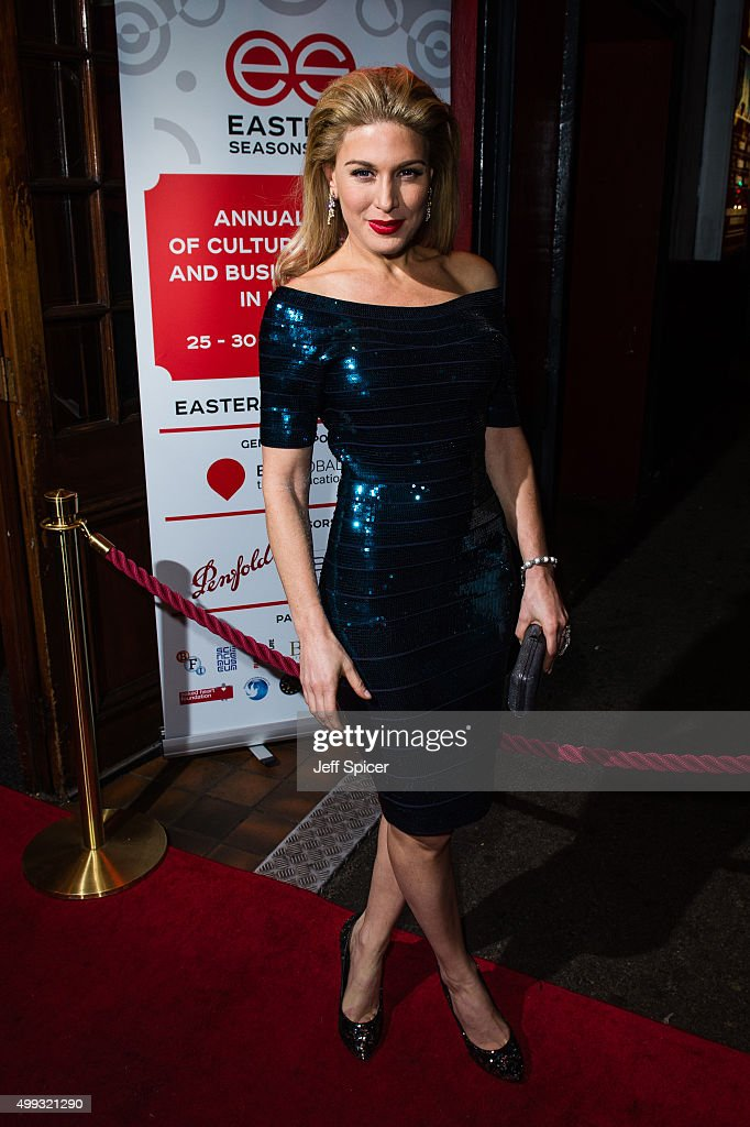 <a gi-track='captionPersonalityLinkClicked' href=/galleries/search?phrase=Hofit+Golan&family=editorial&specificpeople=542603 ng-click='$event.stopPropagation()'>Hofit Golan</a> attends Eastern Seasons' Gala Dinner at Madame Tussauds on November 30, 2015 in London, England.