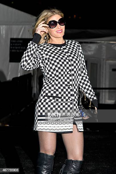 Hofit Golan attends Fall 2014 Mercedes Benz Fashion Week on February 7 2014 in New York City