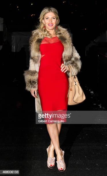 Hofit Golan attends Fall 2014 Mercedes Benz Fashion Week on February 8 2014 in New York City