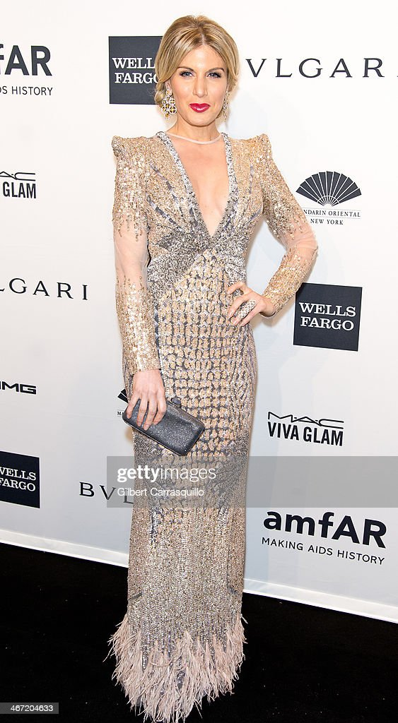 <a gi-track='captionPersonalityLinkClicked' href=/galleries/search?phrase=Hofit+Golan&family=editorial&specificpeople=542603 ng-click='$event.stopPropagation()'>Hofit Golan</a> attends the 2014 amfAR New York Gala at Cipriani Wall Street on February 5, 2014 in New York City.