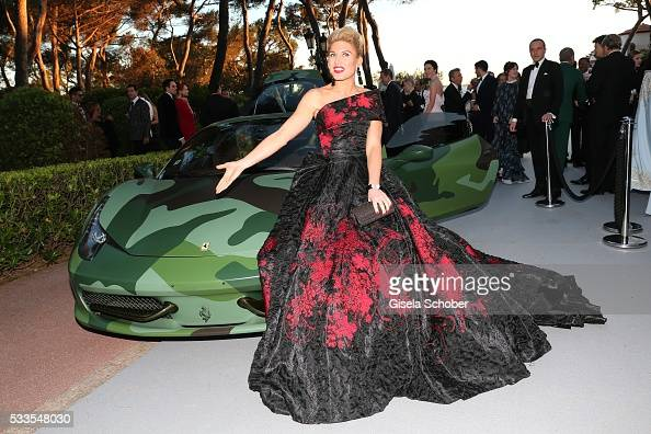 Hofit Golan attends the amfAR's 23rd Cinema Against AIDS Gala at Hotel du CapEdenRoc on May 19 2016 in Cap d'Antibes France