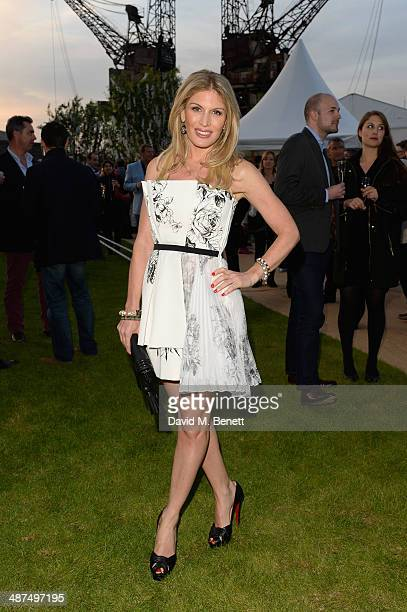 Hofit Golan attends the Battersea Power Station Annual Party on April 30 2014 in London England