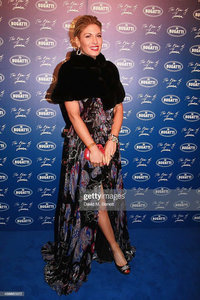 <a gi-track='captionPersonalityLinkClicked' href=/galleries/search?phrase=Hofit+Golan&family=editorial&specificpeople=542603 ng-click='$event.stopPropagation()'>Hofit Golan</a> attends the Blue of London celebrating the world's first Bugatti Lifestyle Boutique opening at Brompton Road on November 12, 2014 in London, England.