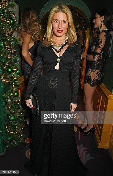 Hofit Golan attends the David Morris and Agent Provocateur drinks reception hosted by Jeremy Morris and Lisa Tchenguiz at Annabel's on December 15...