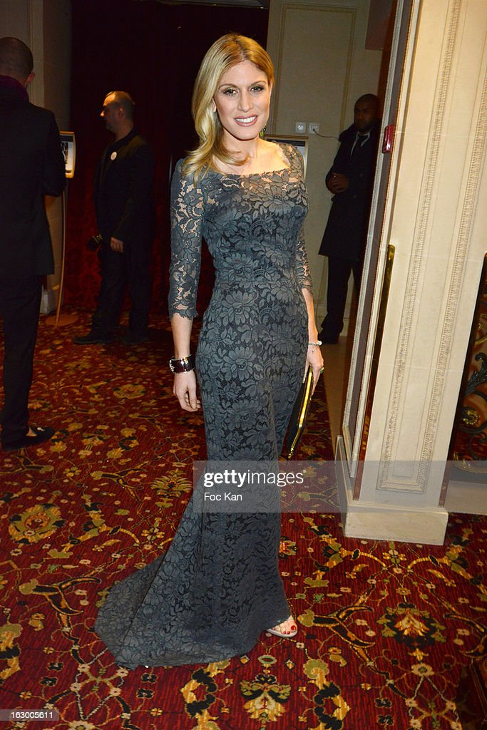 Hofit Golan attends the 'Don't Tell My Booker' Supports La Croix Rouge Dinner PFW F/W 2013 at the Hotel Intercontinental on March 2nd 2013 in Paris...