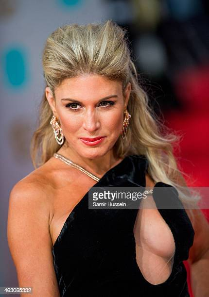 Hofit Golan attends the EE British Academy Film Awards at The Royal Opera House on February 8 2015 in London England