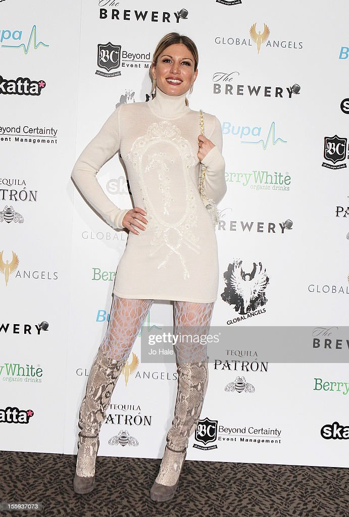 Hofit Golan attends The Global Angels Awards at The Brewery on November 9, 2012 in London, England.
