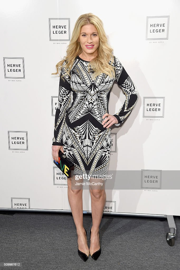 <a gi-track='captionPersonalityLinkClicked' href=/galleries/search?phrase=Hofit+Golan&family=editorial&specificpeople=542603 ng-click='$event.stopPropagation()'>Hofit Golan</a> attends the Herve Leger By Max Azria Fall 2016 New York Fashion Week: The Shows at The Arc, Skylight at Moynihan Station on February 13, 2016 in New York City.