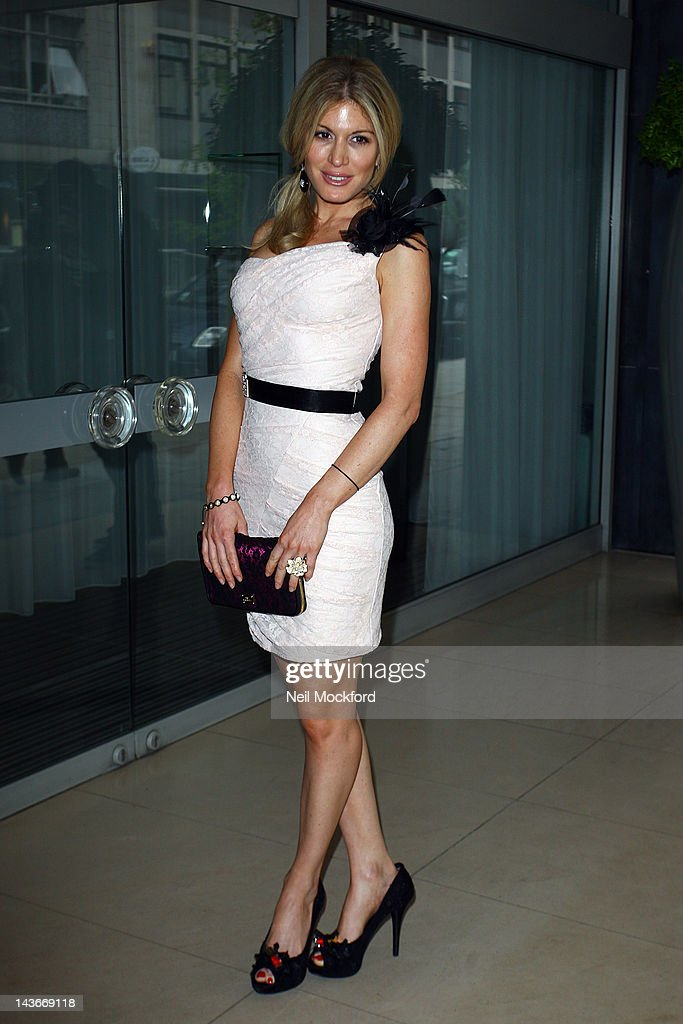 Hofit Golan attends The HUB Silent Auction Afternoon Tea at The Sanderson Hotel on May 2, 2012 in London, England.