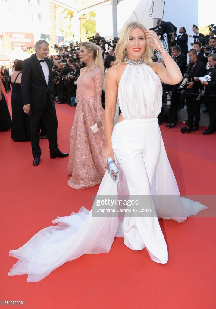 Hofit Golan attends the 'Ismael's Ghosts (Les Fantomes d'Ismael)' screening and Opening Gala during the 70th annual Cannes Film Festival at Palais des Festivals on May 17, 2017 in Cannes, France.