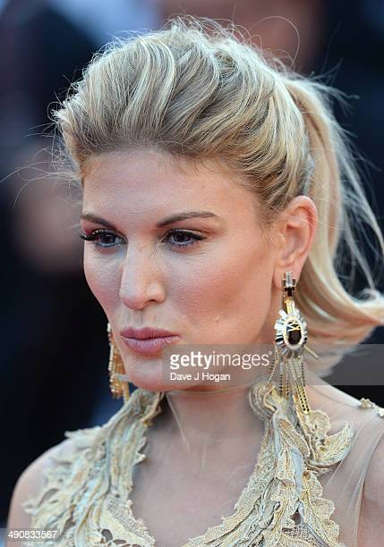 Hofit Golan attends the 'Mr Turner' premiere during the 67th Annual Cannes Film Festival on May 15 2014 in Cannes France