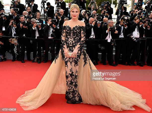 Hofit Golan attends the opening ceremony and premiere of 'La Tete Haute' during the 68th annual Cannes Film Festival on May 13 2015 in Cannes France