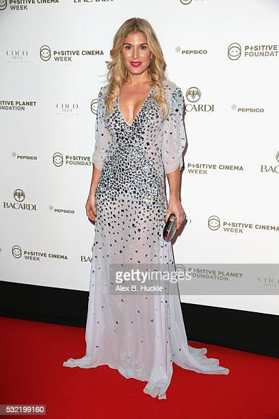 Hofit Golan attends the Planet Finance Foundation Gala Dinner during the 69th annual Cannes Film Festival at Hotel Martinez on May 18 2016 in Cannes...