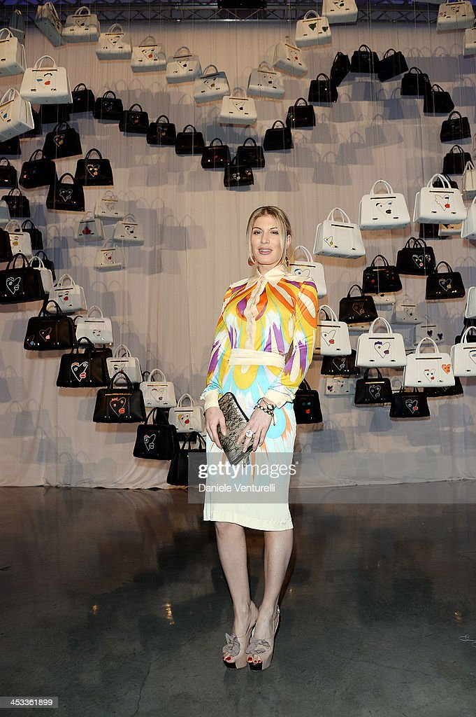 <a gi-track='captionPersonalityLinkClicked' href=/galleries/search?phrase=Hofit+Golan&family=editorial&specificpeople=542603 ng-click='$event.stopPropagation()'>Hofit Golan</a> attends the Porsche Design x Thierry Noir Art Basel Miami Beach Event at The Temple House on December 3, 2013 in Miami Beach, Florida.