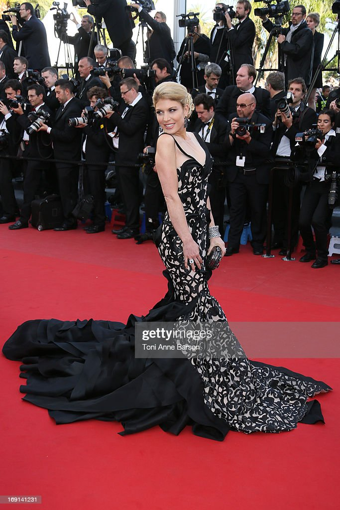 Hofit Golan attends the Premiere of 'Blood Ties' during the 66th Annual Cannes Film Festival at the Palais des Festivals on May 20, 2013 in Cannes, France.