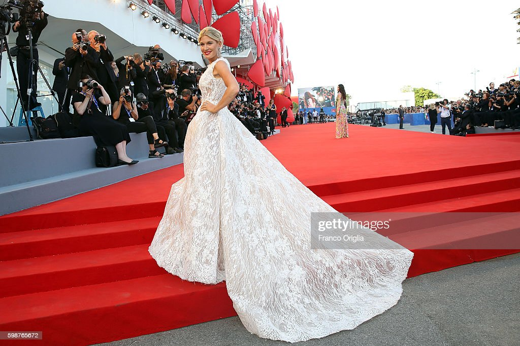 Hofit Golan attends the premiere of 'Nocturnal Animals' during the 73rd Venice Film Festival at Sala Grande on September 2, 2016 in Venice, Italy.