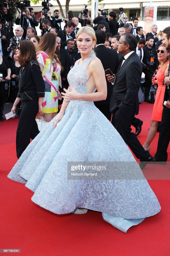Hofit Golan attends the 'The Beguiled' screening during the 70th annual Cannes Film Festival at Palais des Festivals on May 24, 2017 in Cannes, France.