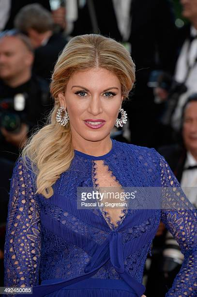 Hofit Golan attends the 'Two Days One Night' premiere during the 67th Annual Cannes Film Festival on May 20 2014 in Cannes France
