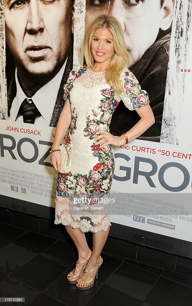 Hofit Golan attends the UK Premiere of 'The Frozen Ground' at Vue West End on July 17, 2013 in London, England.