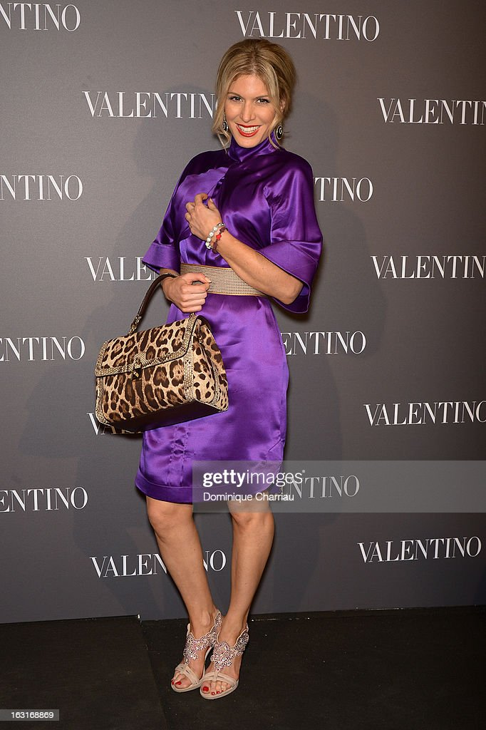 Hofit Golan attends the Valentino Flagship Reopening Cocktail on March 5, 2013 in Paris, France.