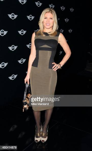 Hofit Golan attends the World Premiere of the new MINI at Old Sorting Office on November 18 2013 in London England
