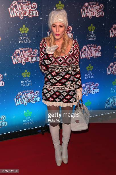 Hofit Golan attends Winter Wonderland VIP Launch on November 16 2017 in London England