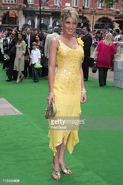 Hofit Golan during 'Shrek the Third' London Premiere Green Carpet Arrivals at The Odeon Leicester Square in London Great Britain