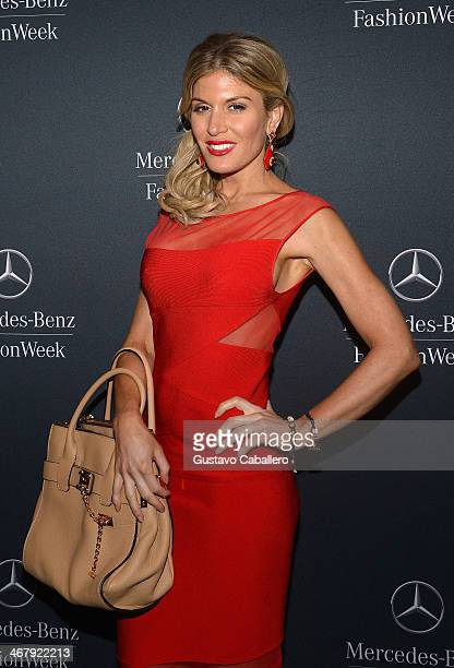 Hofit Golan is seen around Lincoln Center Day 3 MercedesBenz Fashion Week Fall 2014 at Lincoln Center for the Performing Arts on February 8 2014 in...