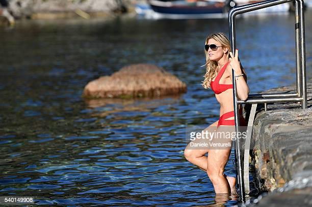 Hofit Golan is seen on June 14 2016 in Taormina Italy