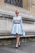 Street Style - Paris Fashion Week - Haute Couture...