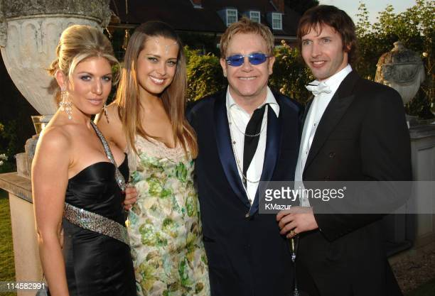 Hofit Golan Petra Nemcova Sir Elton John and James Blunt