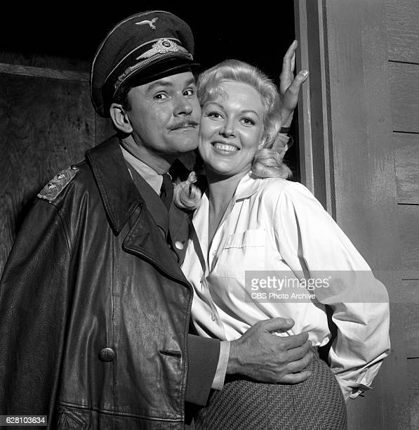 Hogan's Heroes episode Happy Birthday Adolf Pictured from left is Bob Crane and Cynthia Lynn Image dated July 14 1965 Original broadcast date January...