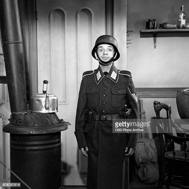 Hogan's Heroes episode Happy Birthday Adolf Pictured is Robert Clary Image dated July 14 1965 Original broadcast date January 7 1966 Hollywood CA