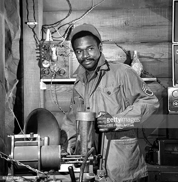 Hogan's Heroes episode Happy Birthday Adolf Pictured Ivan Dixon Image dated July 14 1965 Original broadcast date January 7 1966 Hollywood CA