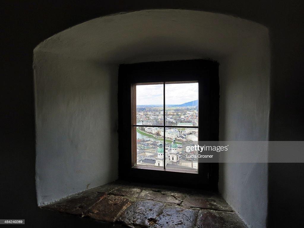 Hohensalzburg Castle, Salzburg, Austria : Stock Photo