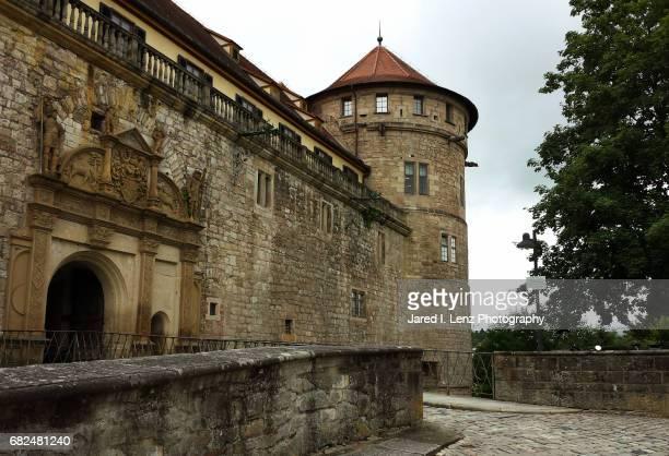 Hohentübingen Castle Entrance and Tower (Germany)
