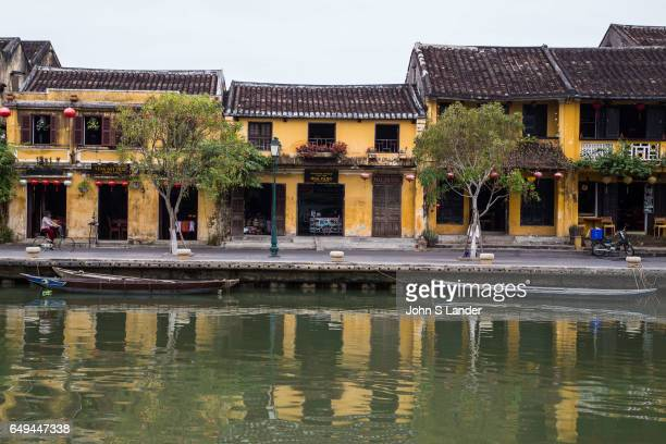 Hoi An Architecture Reflecting on the Thu Bon River Hoi An Architecture together with the Chinese and Vietnamese architectural gems 19th century...