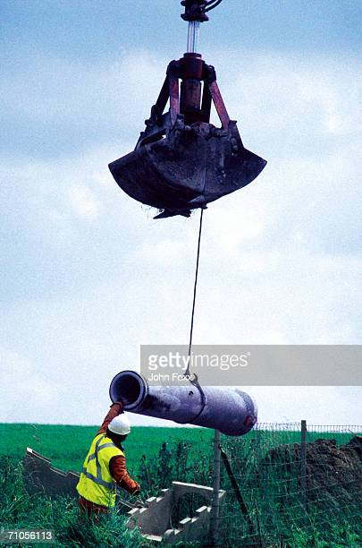 hoisting a pipe