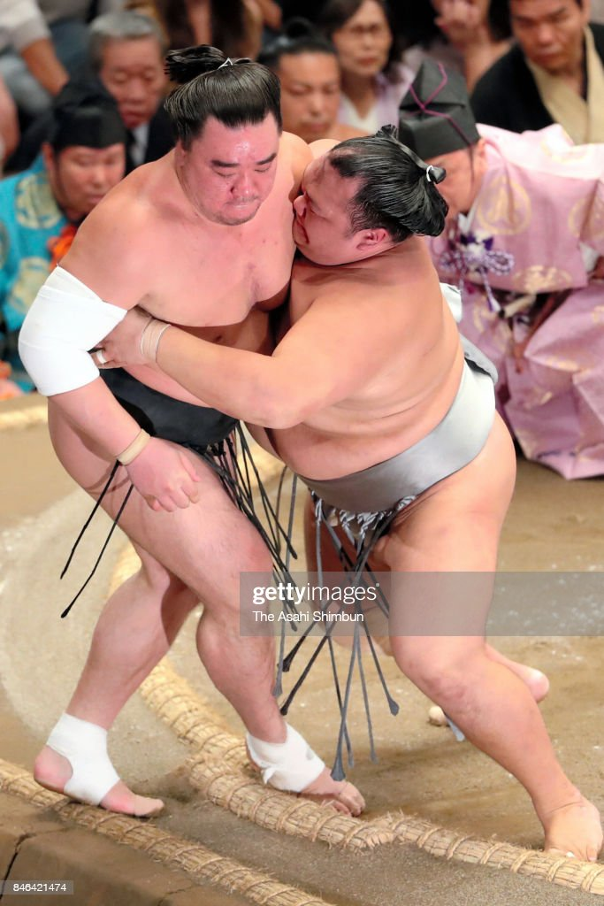 Grand Sumo Autumn Tournament - Day 4