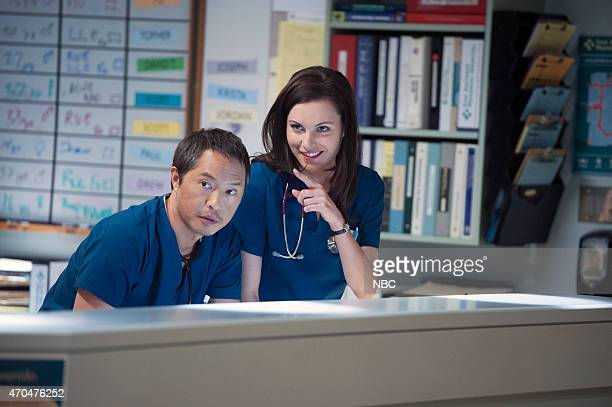 SHIFT 'Hold On' Episode 211 Pictured Ken Leung as Topher Zia Jill Flint as Jordan Alexander