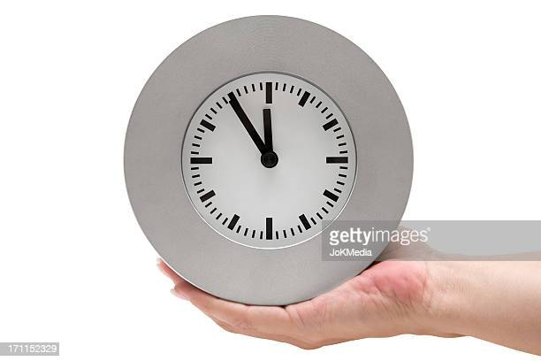 Con un orologio grigio (percorso clip inclusa