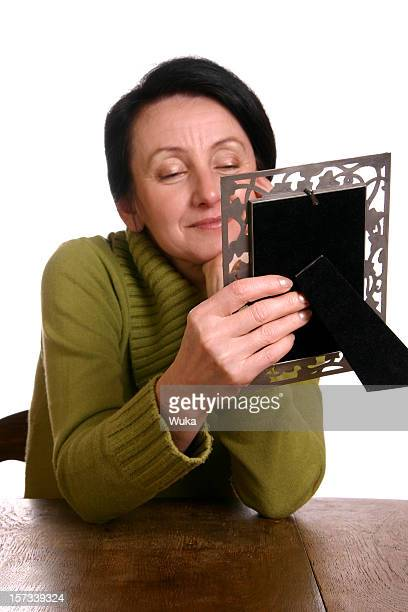 Holding a picture frame